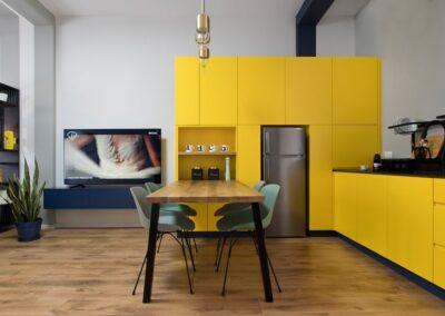עיצוב פינת אוכל בתים קטנים