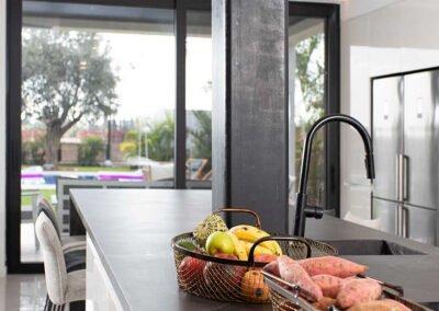 שיש מטבח עיצוב בית פרטי