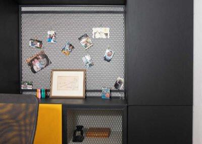 חדר עבודה עיצוב בית פרטי