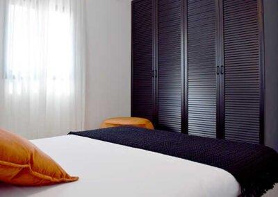 תכנון ארון בחדר שינה קטן